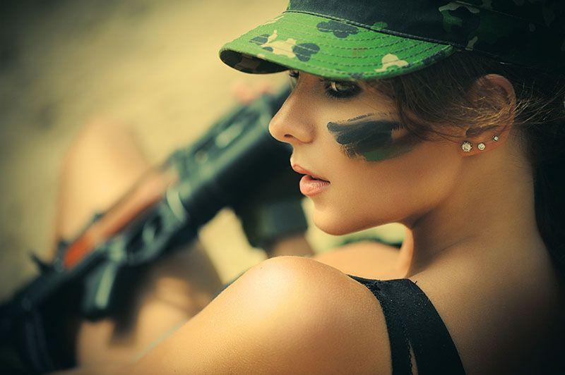 фотоальбом в стиле милитари