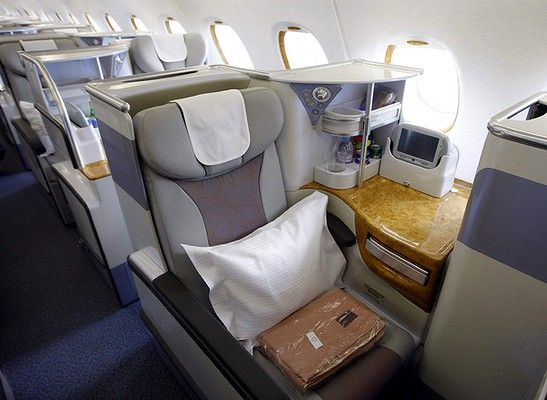 Business Class Seats On The Emirates A380 Favorite Is