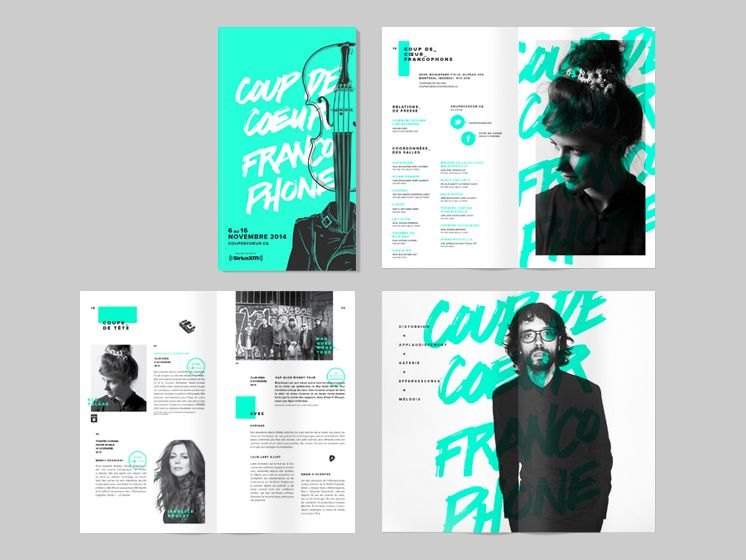 Web and Branding Works by Akufen