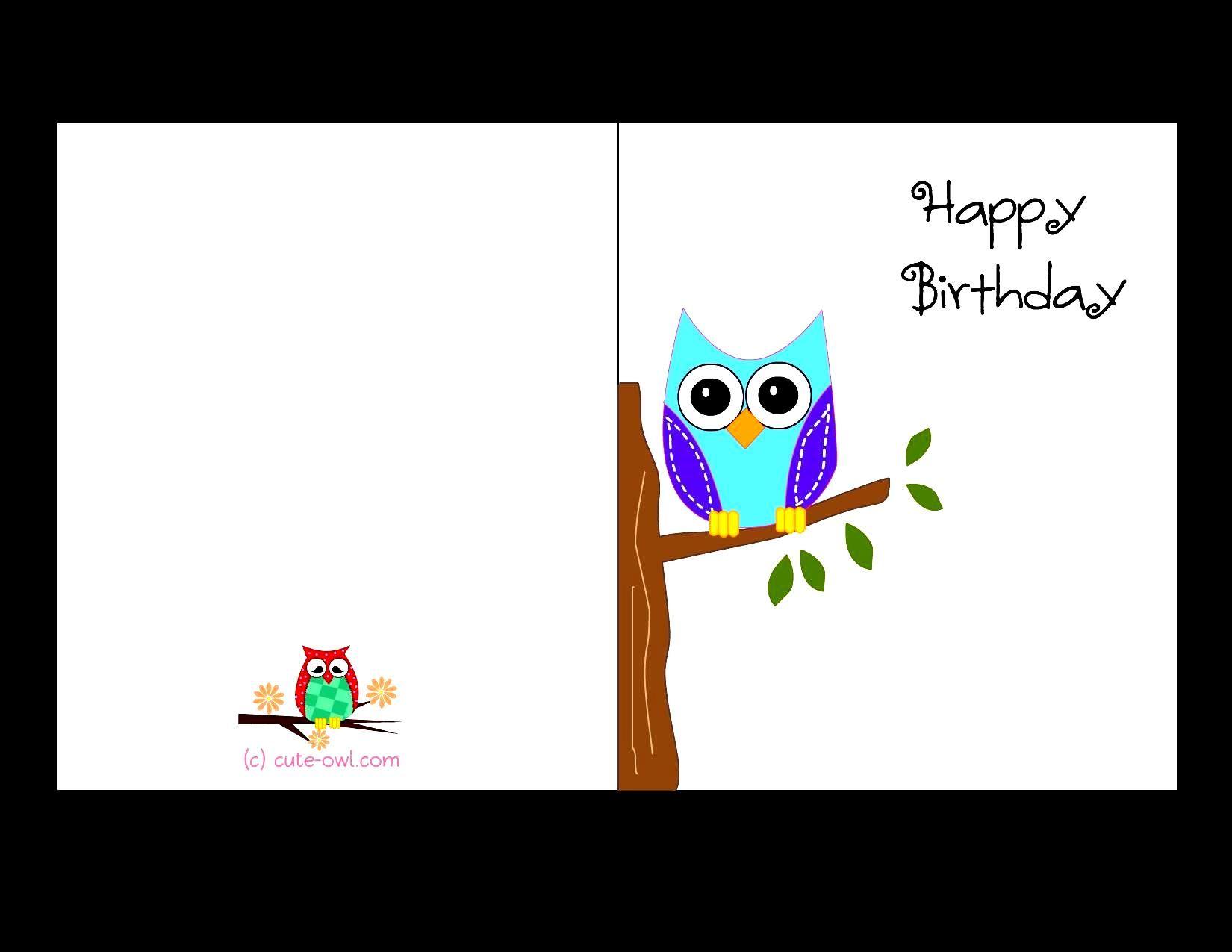 free printable birthday cards | girls things | Pinterest | Free ...