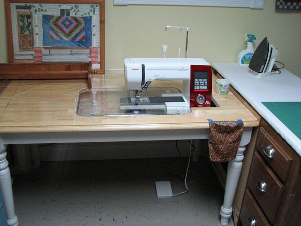 Homemade Sewing Table Ideas For My Sewing Room