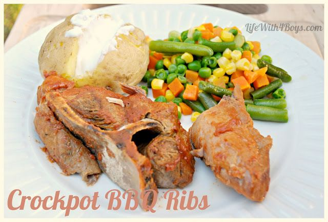 Slow cooker bbq ribs may be a bit more expensive but looks good i cooked these today for supper tonight ad omg they are amazing a very simple recipe and they are great you can even put them in the freezer and though forumfinder Choice Image