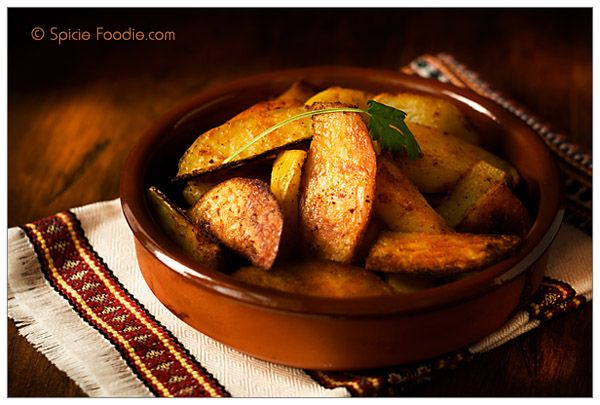 recipe: calories in potato wedges baked [36]