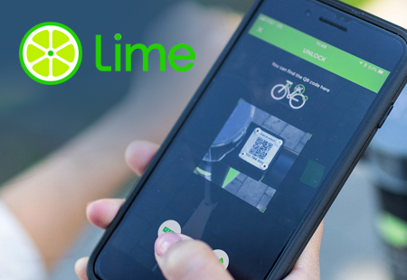 Lime is an advanced mobility service providing the shared