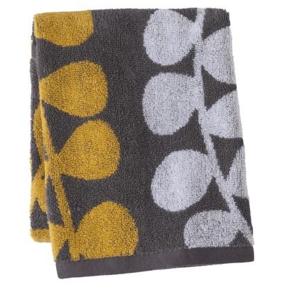 Admirable Room Essentials Vine Towel Gray Yellow Bathrooms Download Free Architecture Designs Estepponolmadebymaigaardcom