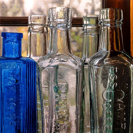 Photorealist Paintings Of Scrabble Seltzer Bottles And Other