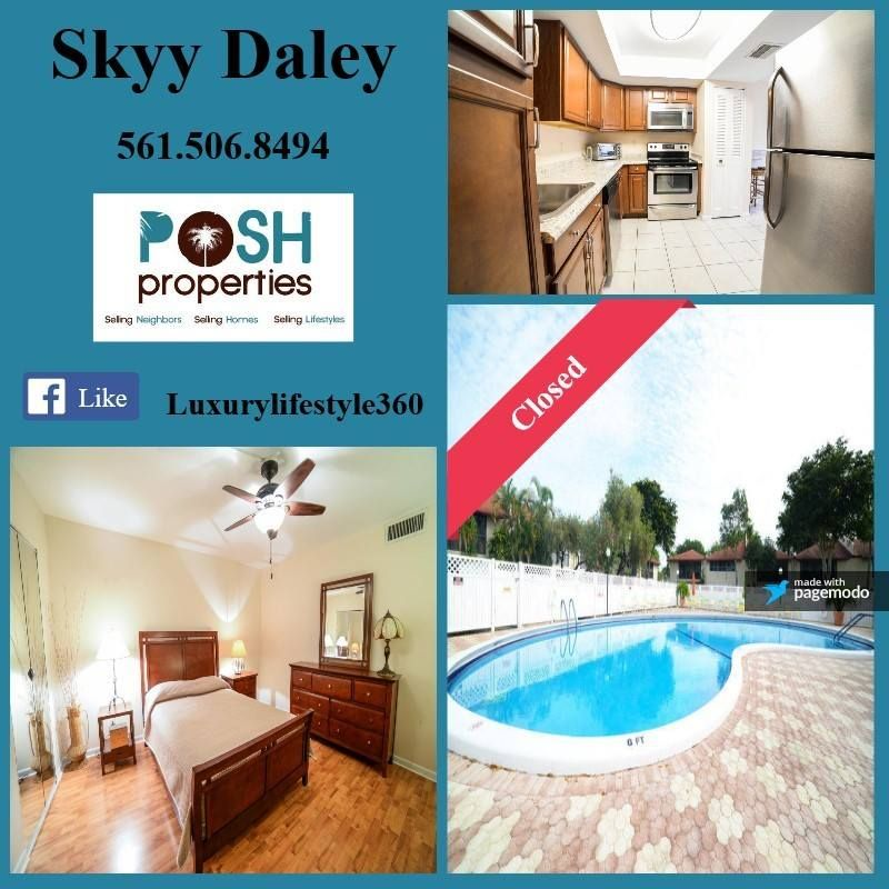Closed Great Job Skyy Daley Poshproperties Southflorida
