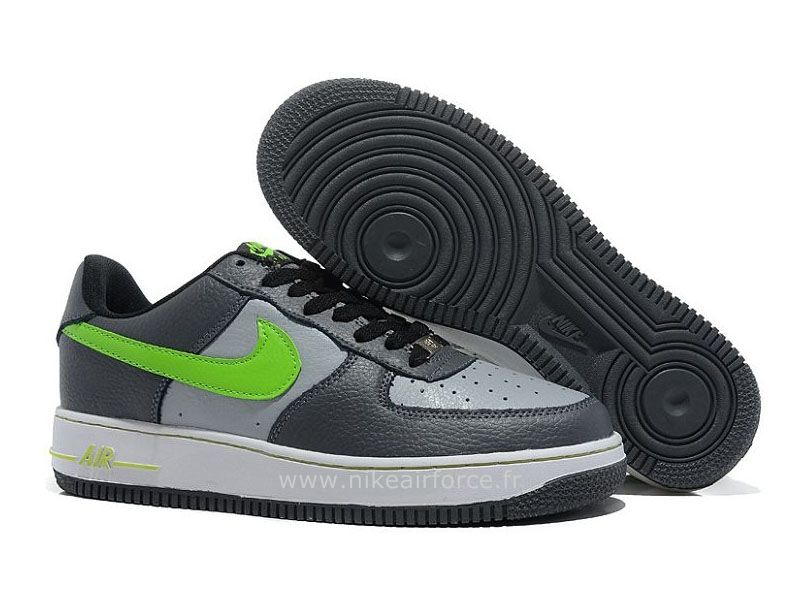outlet store 4a42b 9f960 Nike Air Force 1 Basse Gris Volt Blanc Chaussure pour Homme Nike Air Force  1 Mid
