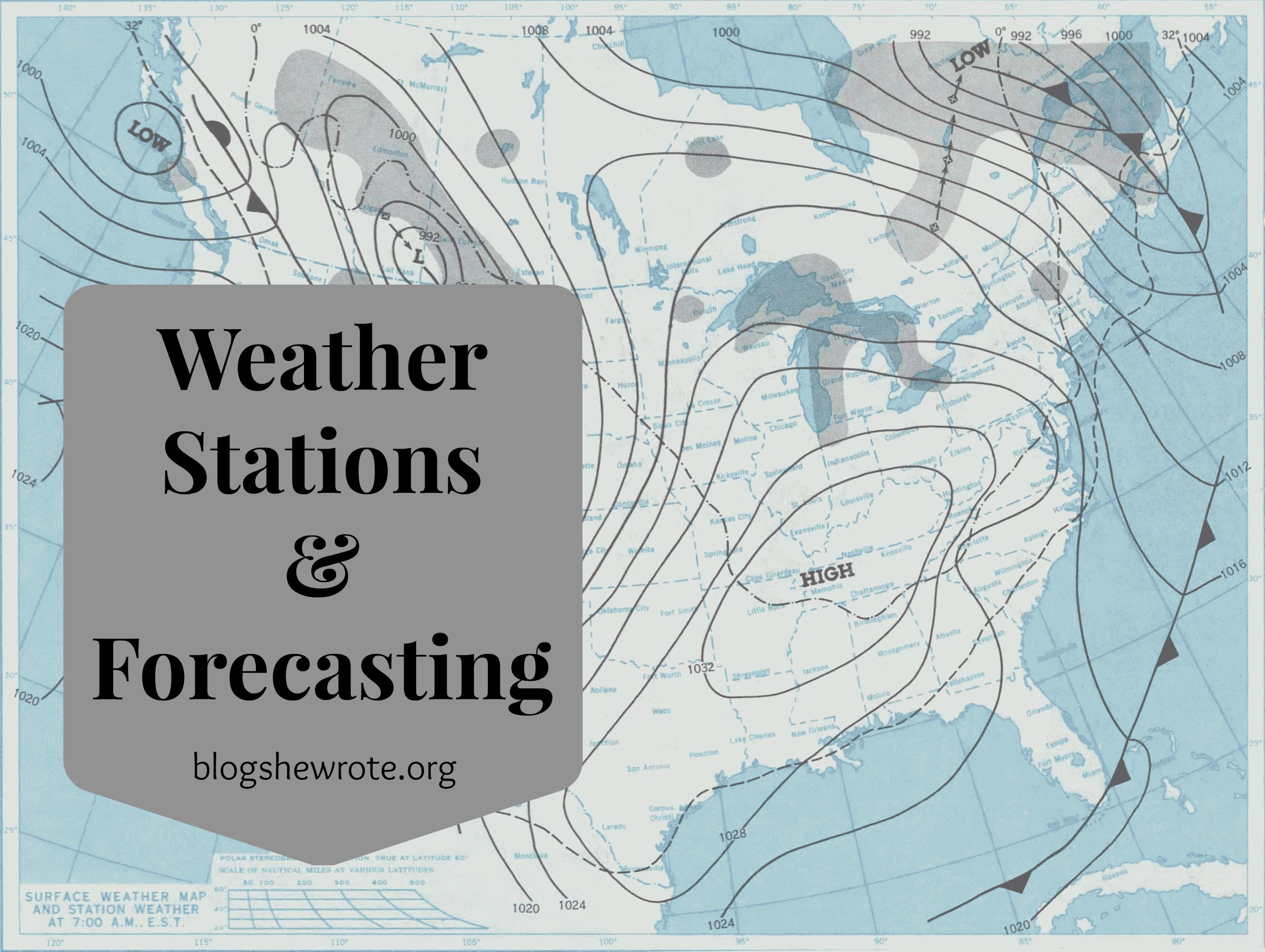 Blog She Wrote Weather Stations Amp Forecasting