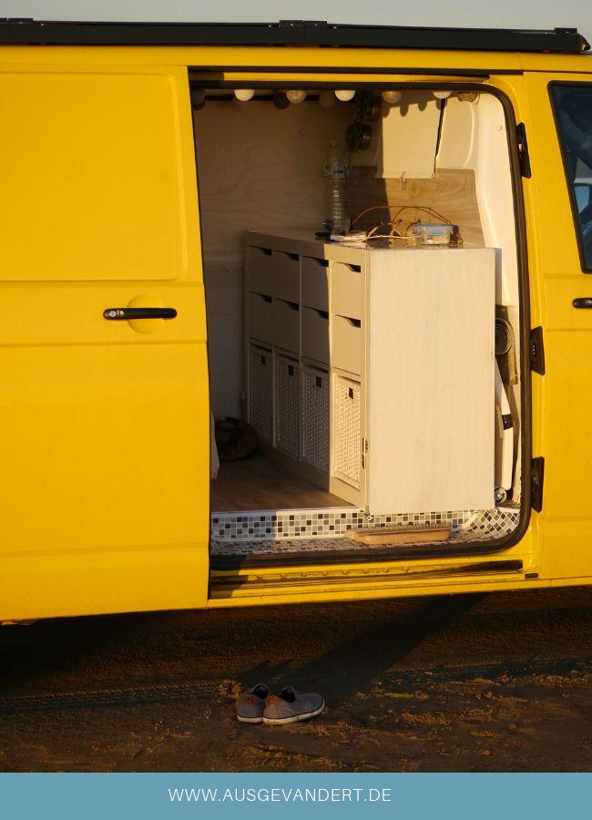 T5 Küchenblock kaufen oder bauen Campingbus ausbau