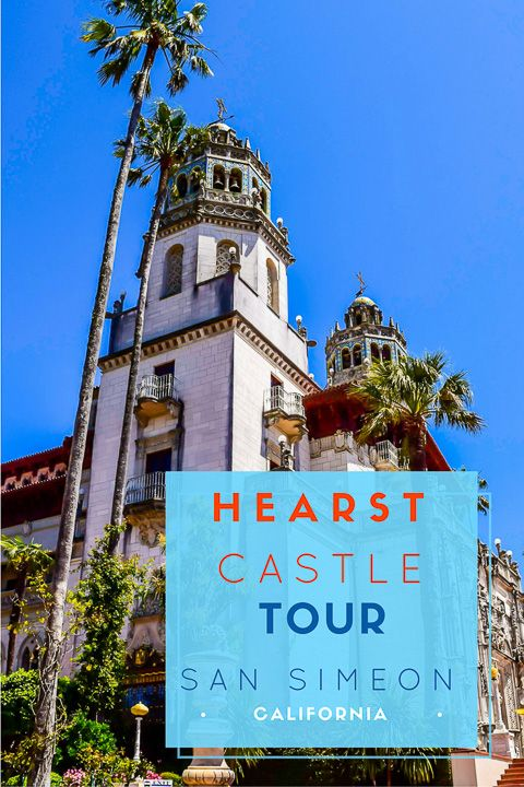 Exquisite Hearst Castle is located along some of the most beautiful Pacific coastline stretches of California Highway 1,  halfway between SF and LA. via @NiceRightNow