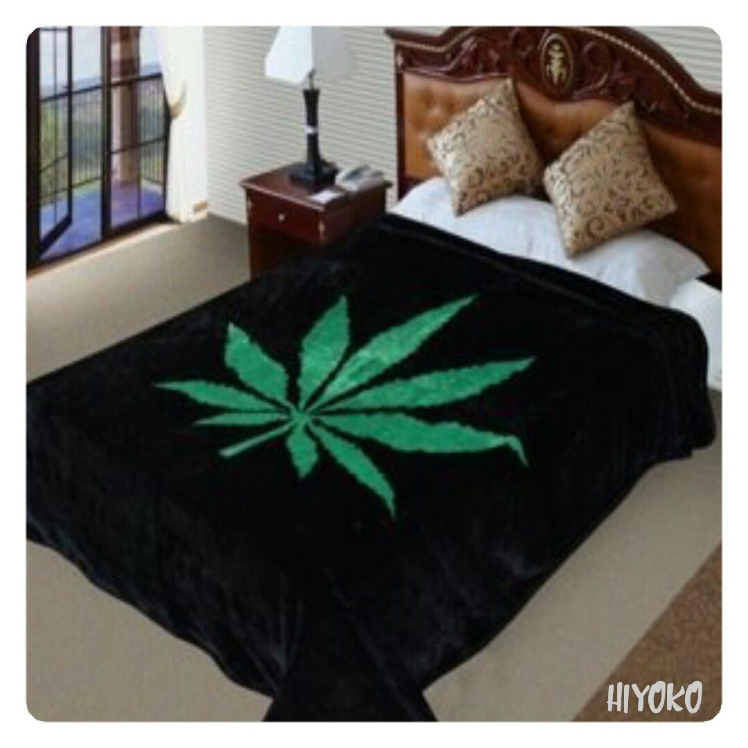 Weed Bettwäsche Awesome Weed Leaf Blanket That Will Look Awesome In The Smoking