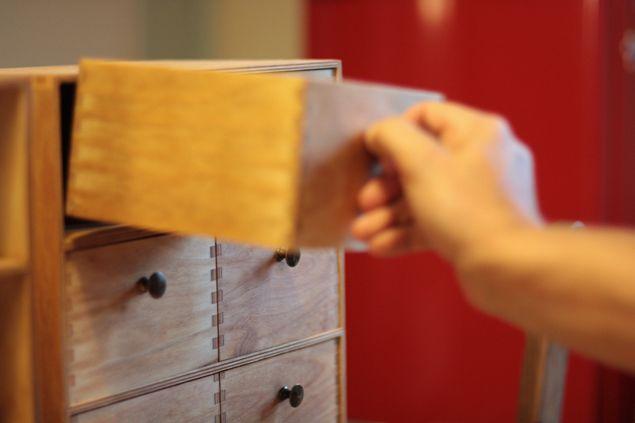 Ikea moppe fira mini chest of drawers recon by ulrika - Mini cassettiera ikea ...