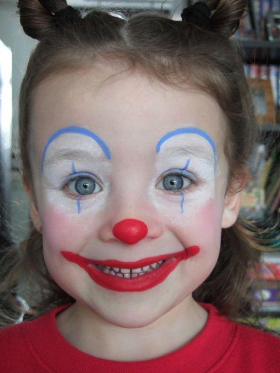 Schminken Simpel Clowntje Schmink Clown Makeup Face Painting