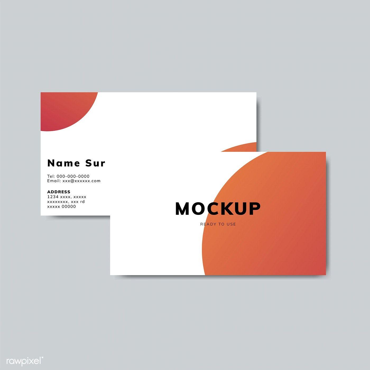 Download Premium Illustration Of Simple Business Card Design