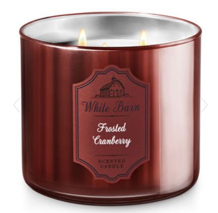 Frosted Cranberry Candle - Bath & Body Works