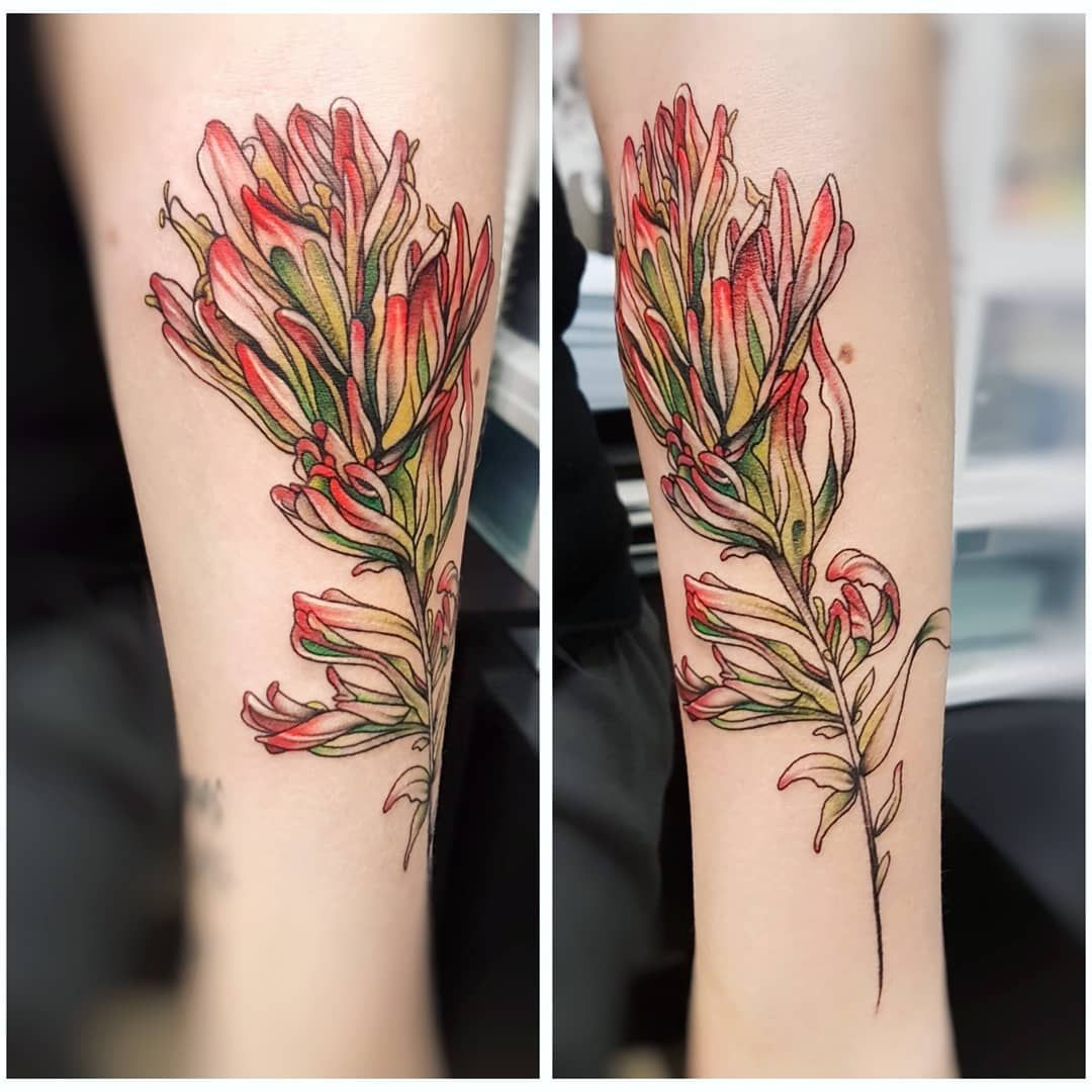 Indian Paintbrush Tattoo Google Search Tattoos Paintbrush