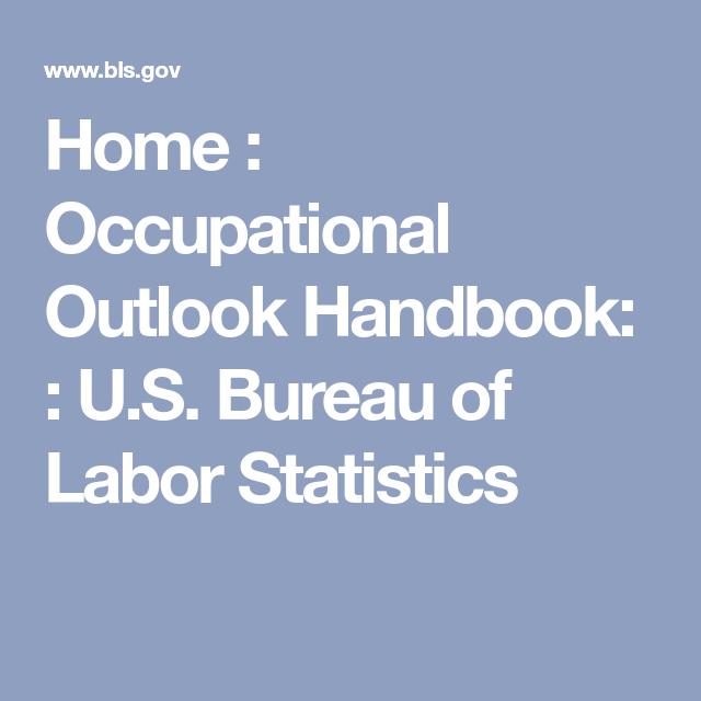 Home Occupational Outlook Handbook Us Bureau Of Labor