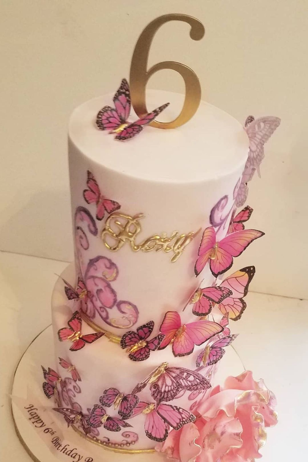 Pleasant Butterfly Quinceanera Theme Ideas Butterfly Birthday Cakes Funny Birthday Cards Online Overcheapnameinfo