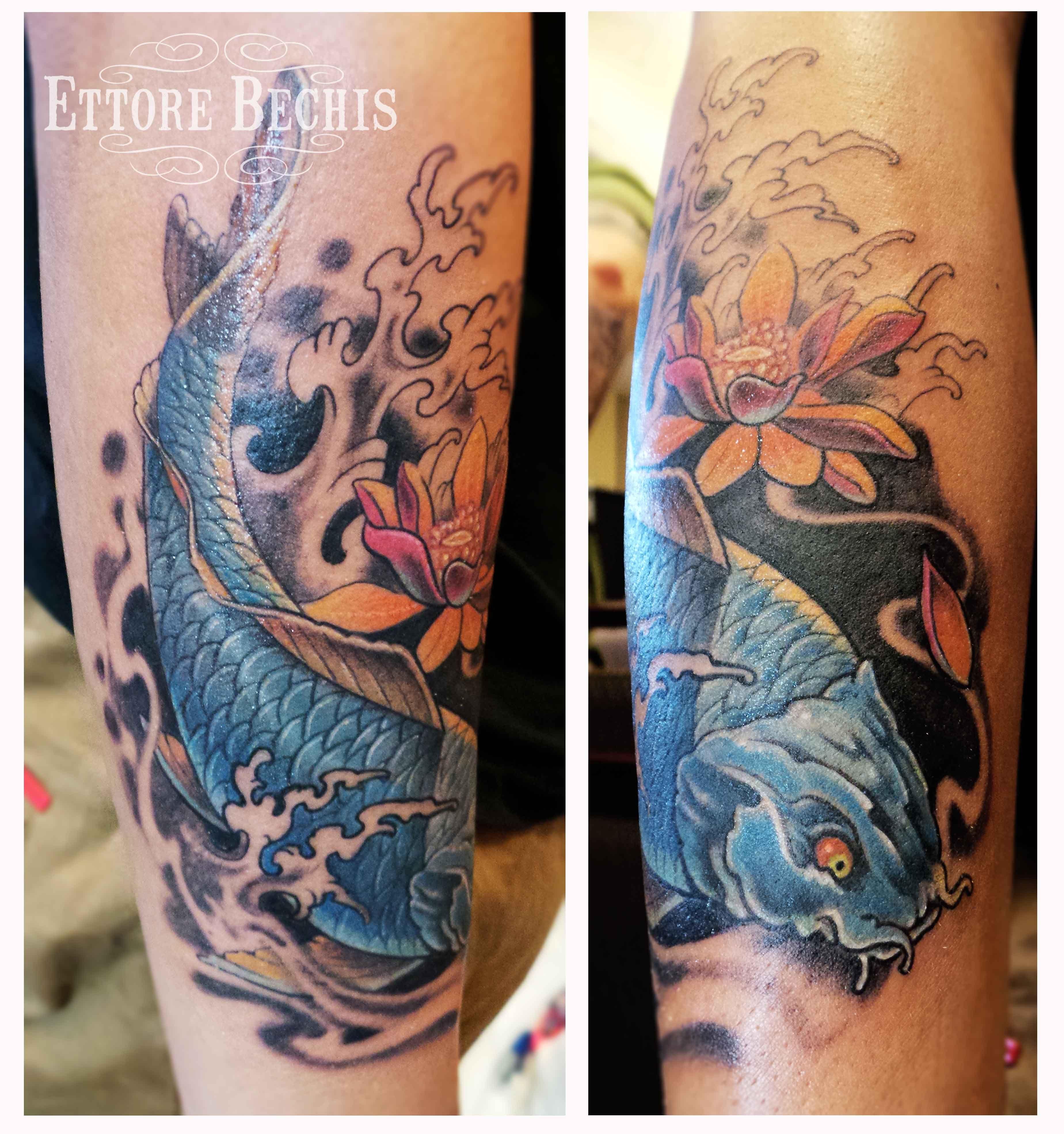 Best miami tattoo shop koifishblue