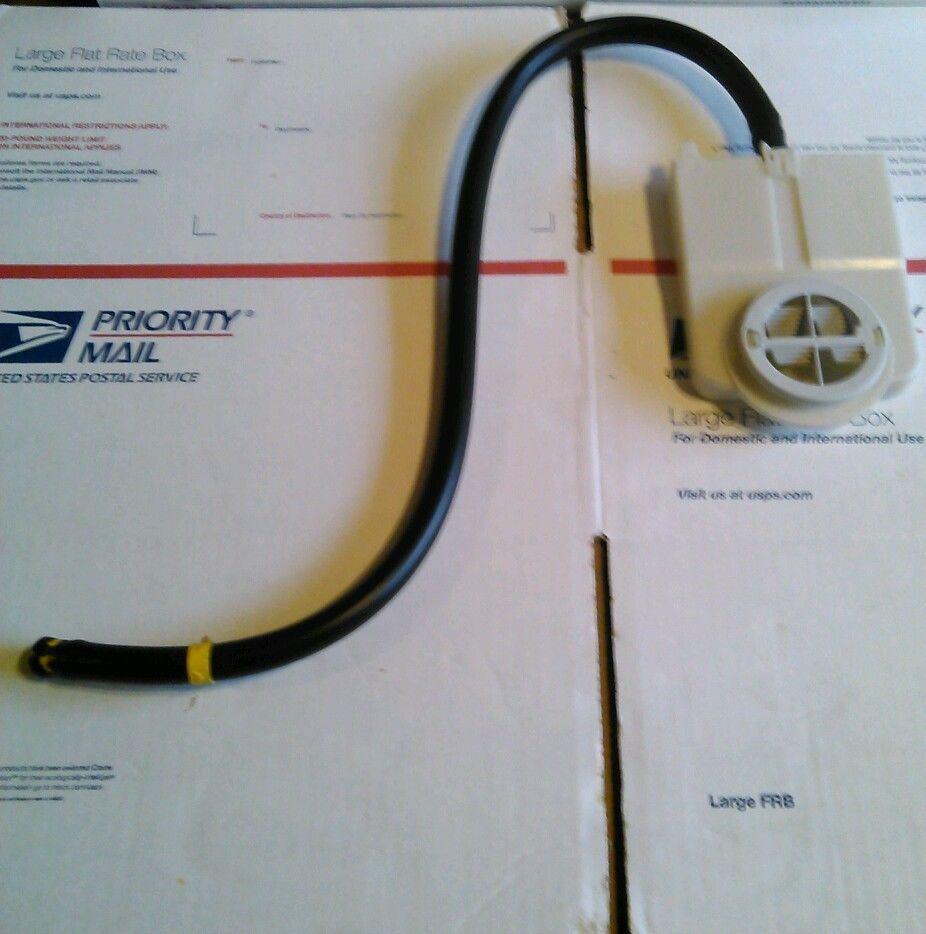 Maytag dishwasher airwater inlet injector hose 99002954