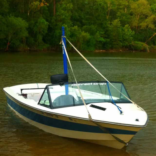 1986 Ski Nautique 2001... Best Ski Boat Ever Made.