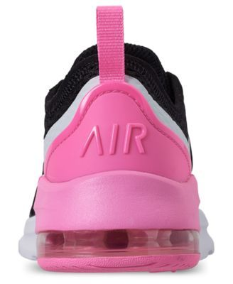 68ab19b1ad290 Nike Little Girls  Air Max Motion 2 Casual Sneakers from Finish Line -  Black 2.5