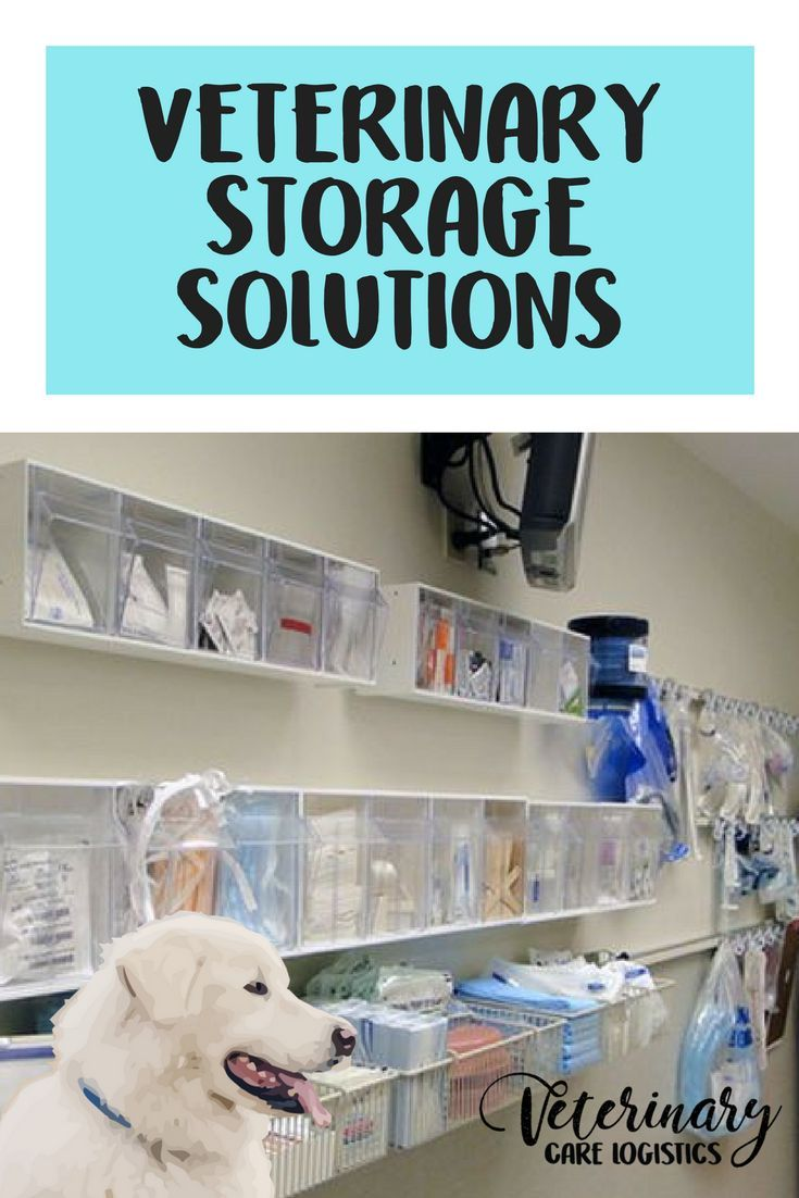My Favorite Veterinary Storage Solutions Storage Solutions Vet