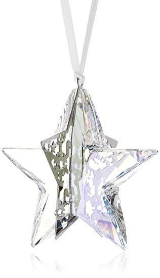 Swarovski Holiday Star Ornament Crystal Moonlight