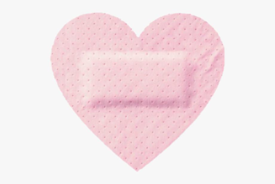 Freetoedit Cute Kawaii Pixel Pastel Heart Bandaid Heart Pink Aesthetic Overlays Png Icons