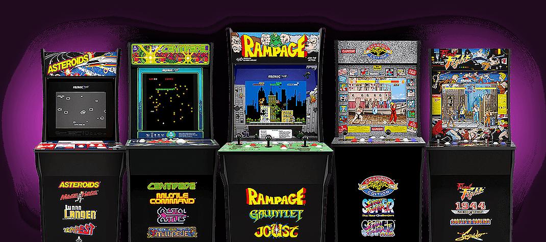 Arcade1up Classic Arcade Games For The Home Retro Arcade Arcade Arcade Cabinet
