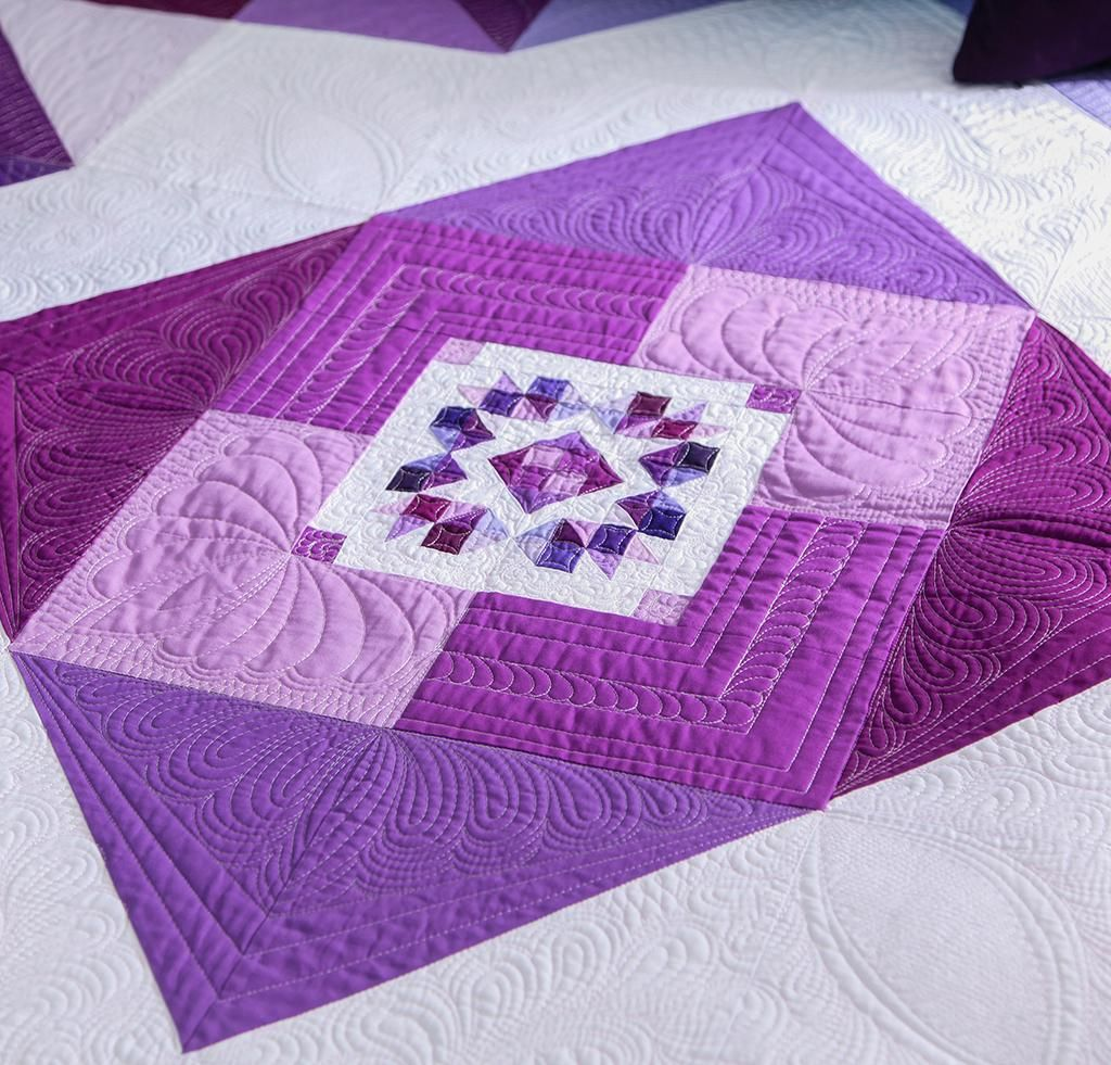 Orchid Mega Quilt Kit Quilting Kit Includes Fabric Pattern Quilts Quilt Kit Fabric Patterns
