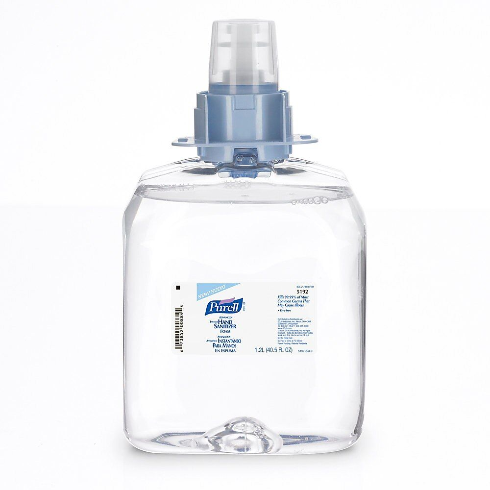 Purell 5456 D1 Tfx Dispenser Refill Hand Sanitizer Dispenser