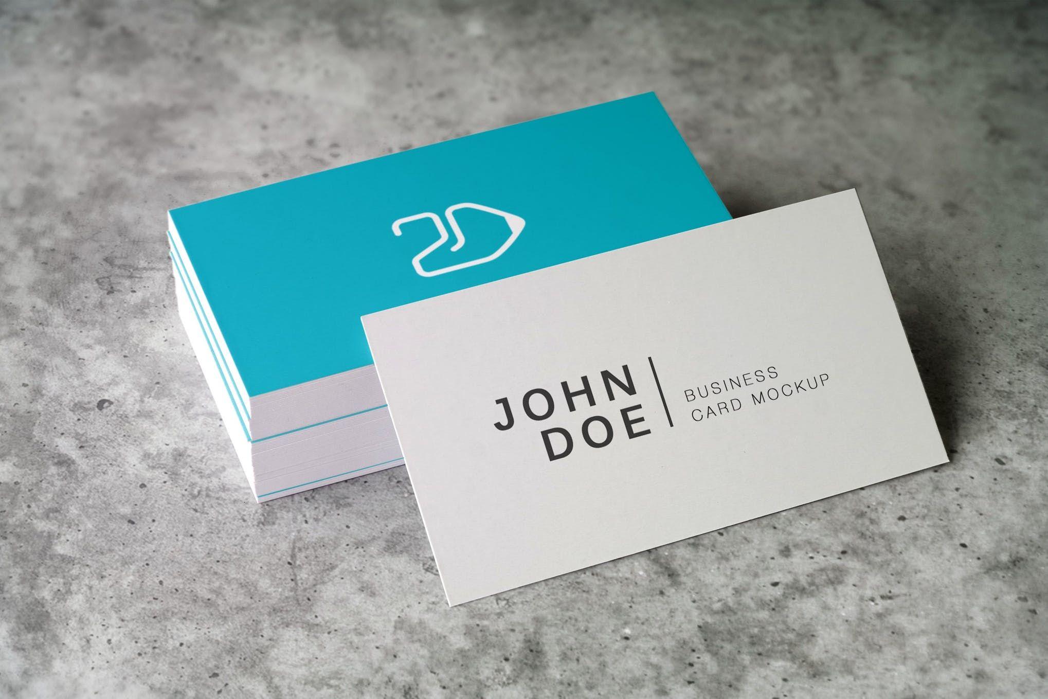 Business Card Mockup | Mock Ups | Business card mock up, Business