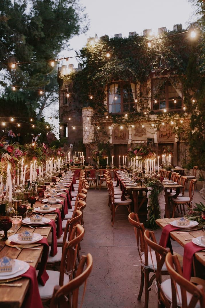 This Might Be The Prettiest Harry Potter,Themed Wedding You
