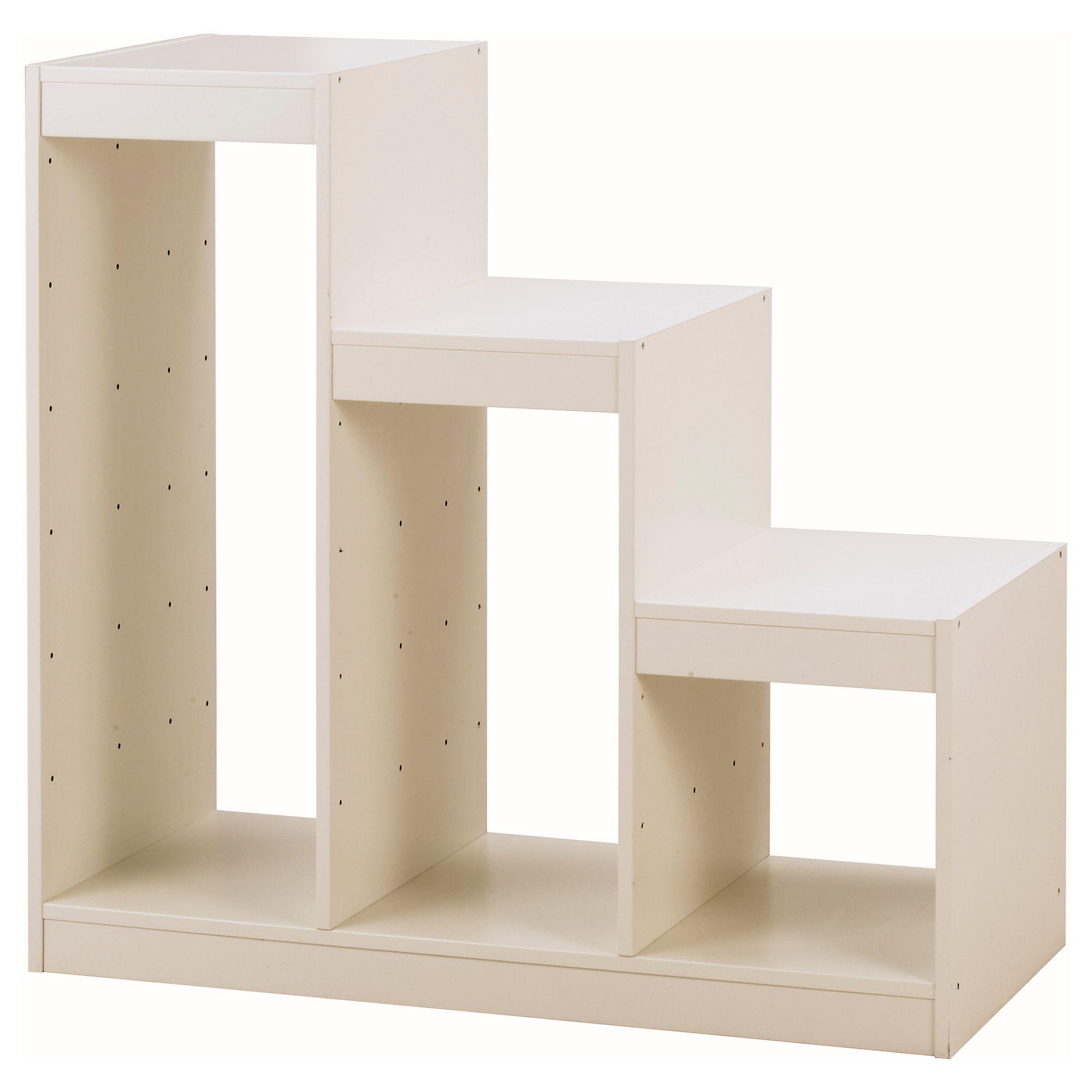 New Bookcase Toy Box White Finish Bedroom Playroom Child: IKEA - TROFAST Frame White