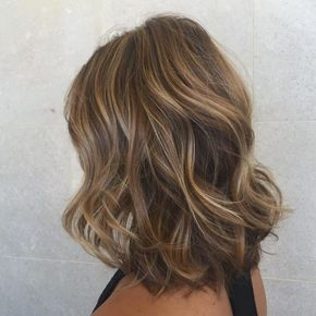 15 Trimmed Brown Relaxed Waves | Brown hair with highlights, Hair styles, Light brown hair