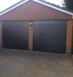 Insulated Aluminium Electric Roller Shutter Garage Door Ce Marked Uk Made Garage Door Design Garage Doors Side Hinged Garage Doors