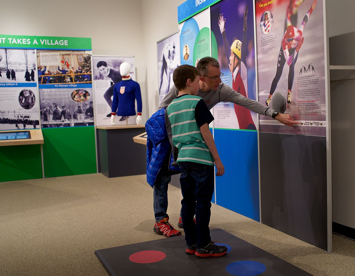 Lake Placid Olympic Museum opens new speed skating exhibit