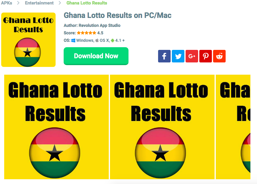 Ghana National Lotto Result Downloads | Ghana in 2019