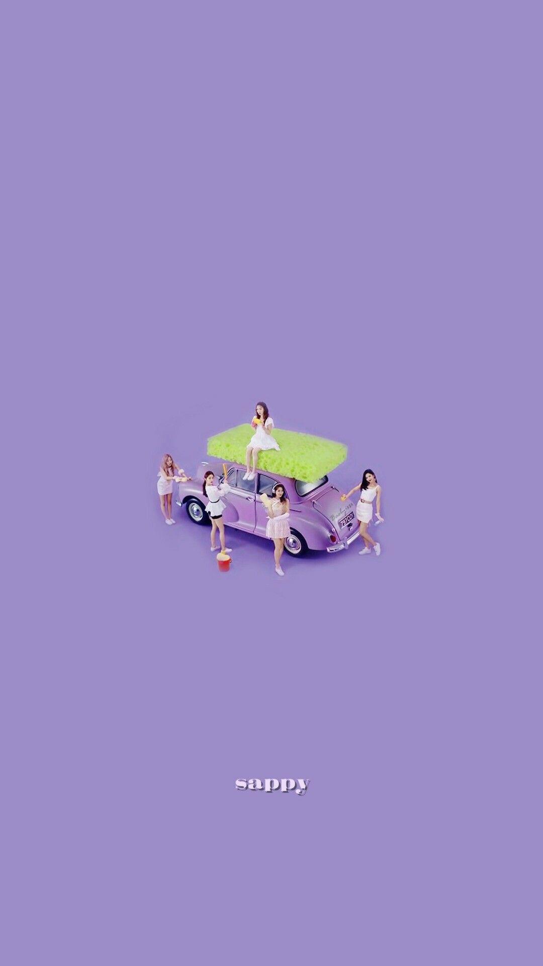 Red Velvet Sappy Backgrounds Wallpaper Lockscreen Fondo De Pantalla Hd Iphone Seulgi Joy Irene Wendy Yeri Kertas Dinding Gambar Karakter Gambar