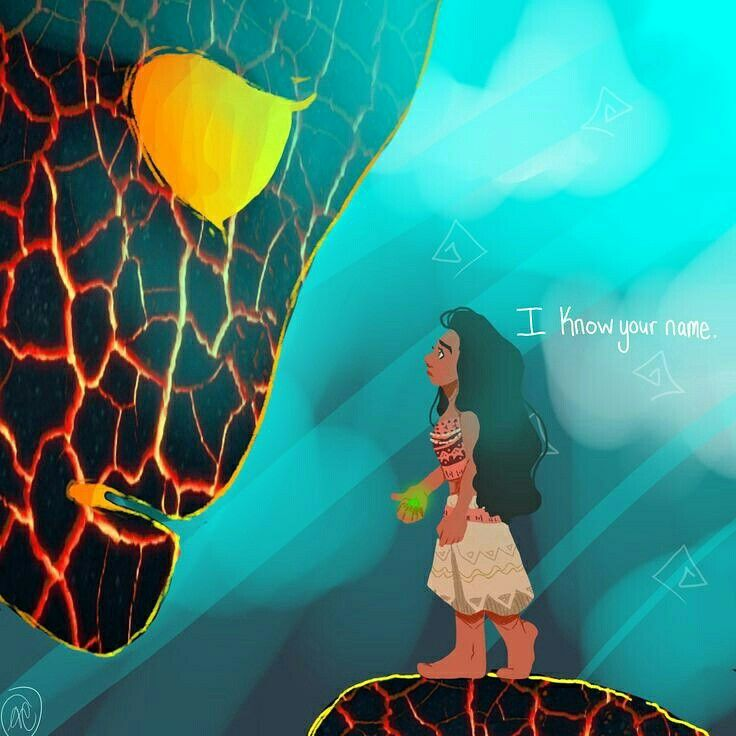 I belive that te Fiti favorite human is moana after all they looked really close
