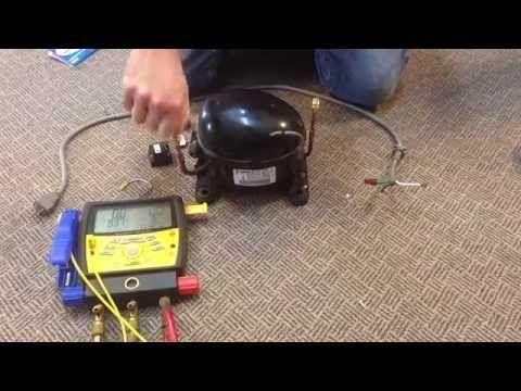 how to make free vacuum pump for compressor and how to check pumping rh pinterest com