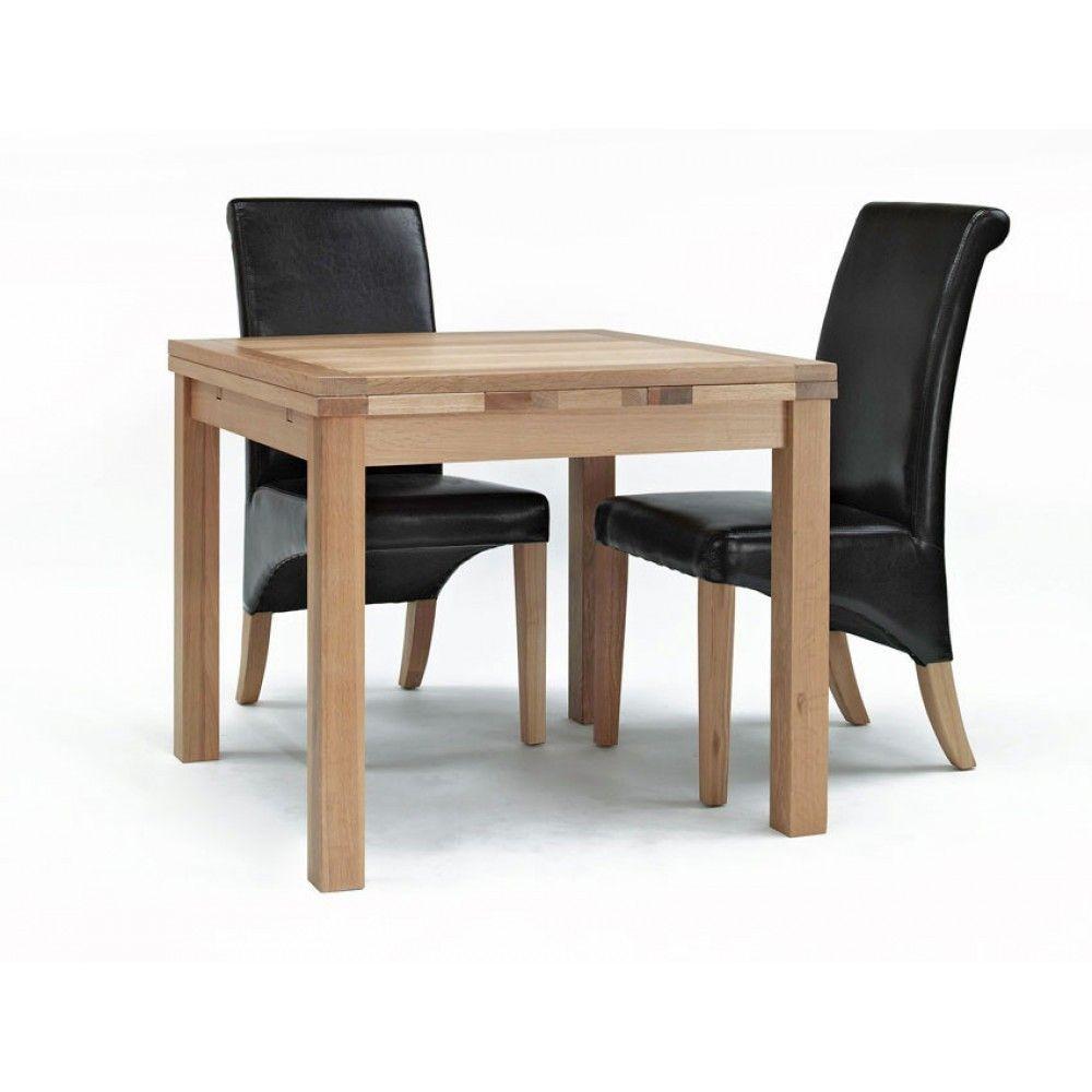 Eiche Erweitern Esstisch Und 4 Stuhle Esstisch Quadratisch