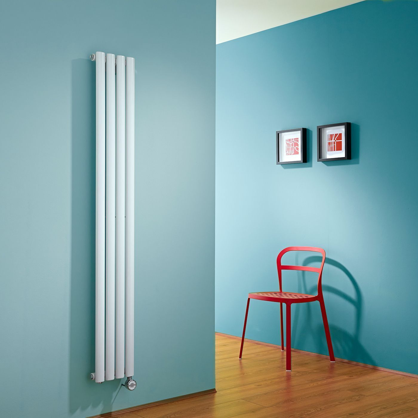 Exceptional Milano Aruba Slim Electric   White Space Saving Vertical Designer Radiator  1600mm X 236mm
