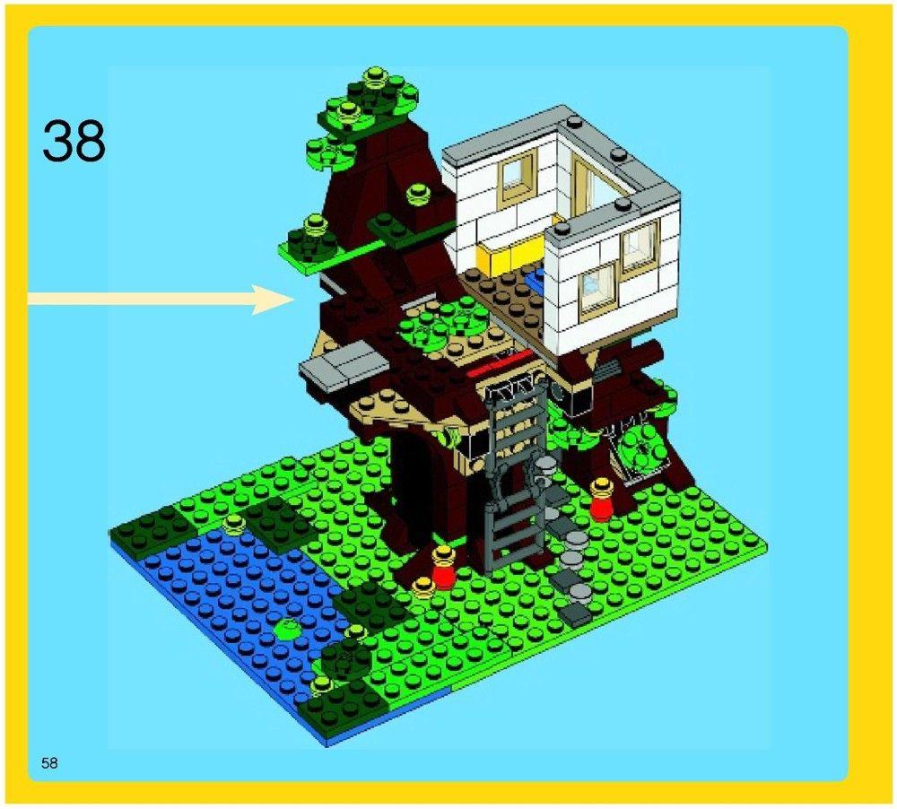 Creator Treehouse [Lego 31010] Lego, Tree house, Lego