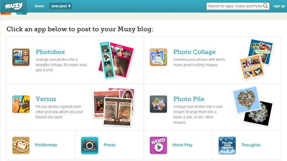 MARIE: Muzy online