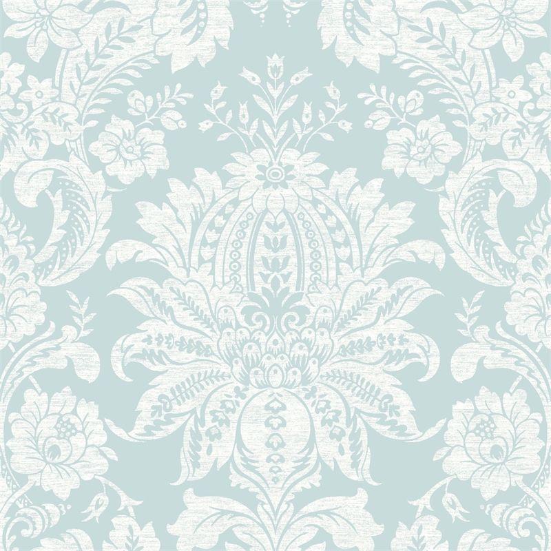 Superfresco Easy 52cm X 10m Venetian Blue Bunnings Warehouse Damask Wallpaper Victorian Wallpaper Damask