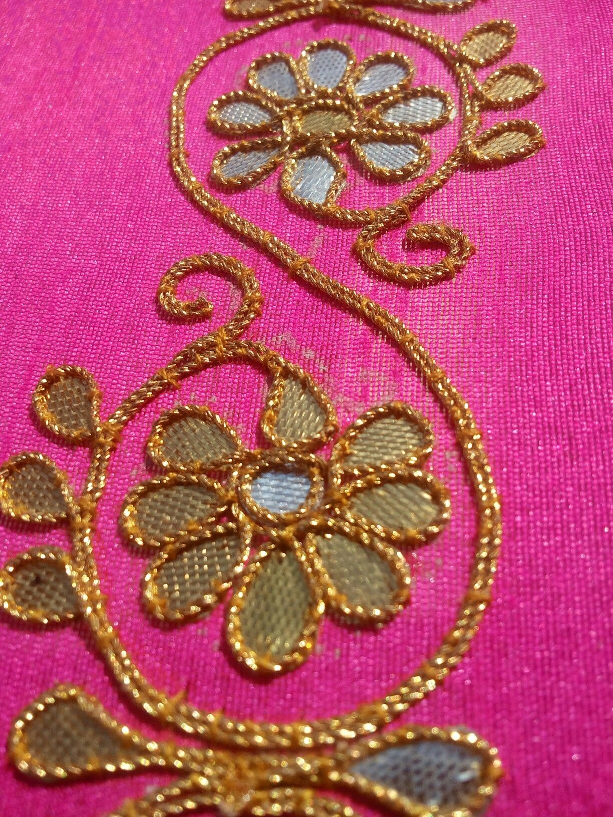 Gota Patti Work | Gota Patti Work | Pinterest | Embroidery Blouse Designs And Indian Fashion