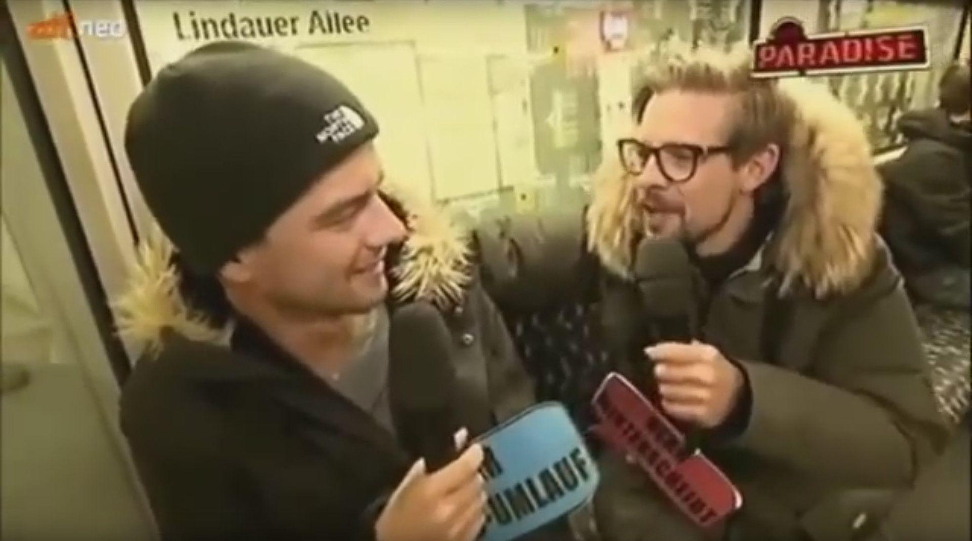 Virales Video Joko Klaas In Der U Bahn Wenn Ich Sie Ware Joko Und Klaas Klaas Joko